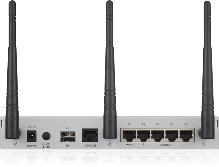 USG20W-VPN Rear
