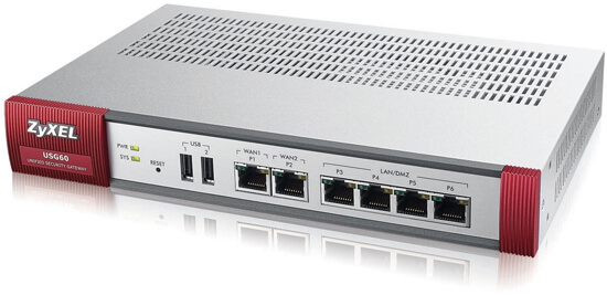 ZyXEL USG 60 Unified Security Gateway
