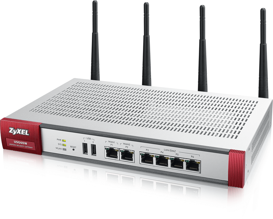 Zyxel USG 60W Unified Security Gateway | ZyxelGuard com