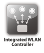 Integrated WLAN Controller