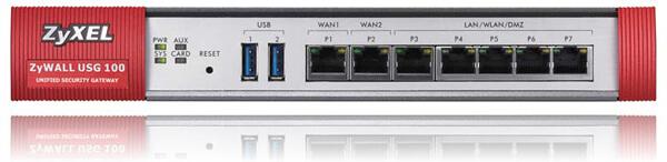 Zyxel USG 100 Unified Security Gateway | ZyxelGuard com