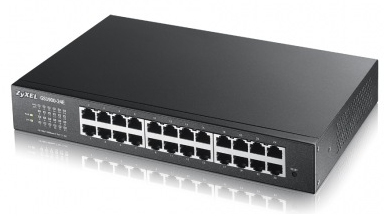 Zyxel GS1900-24E 24-port GbE Smart Managed Switch   ZyxelGuard.com