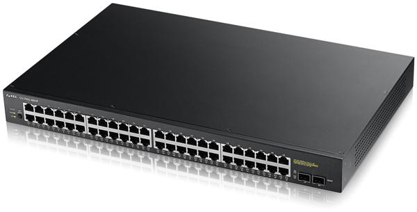 Zyxel GS1920-48HP 48-port GbE Smart Managed PoE Switch | ZyxelGuard.com