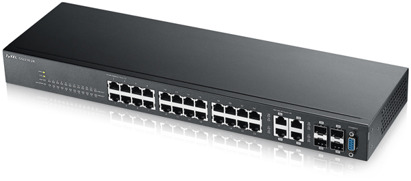 Zyxel GS2210-24 24-port GbE L2 Switch | ZyxelGuard com