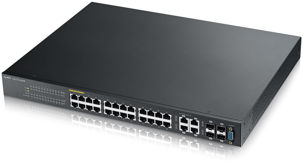 Zyxel GS2210-24HP 24-port GbE L2 PoE Switch | ZyxelGuard com