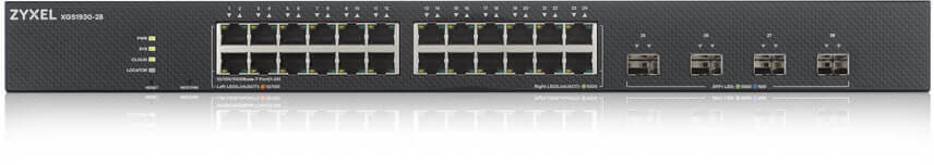 24-port GbE Smart Managed Switch with 4 SFP+ Uplink ZyXEL XGS1930-28