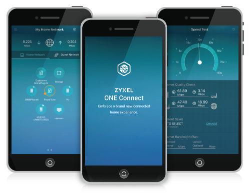 Zyxel ONE Connect App eases home network management
