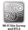 Wi-Fi site survey and RTLS